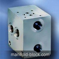 Hydraulic Valve Manifold Block Parallel Circuit D03NFSx1 Series