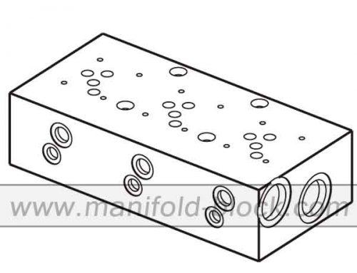 D05 Hydraulic Manifold Block, Valve Manifold ABM10PN