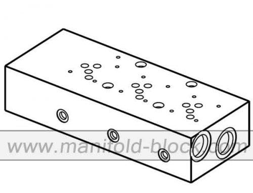 Hydraulic Manifold Block D05, Valve Manifold ABM10PNB