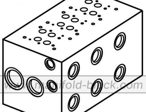 D07 Hydraulic Manifold Block, Extra Flow Valve Manifold BM16PX