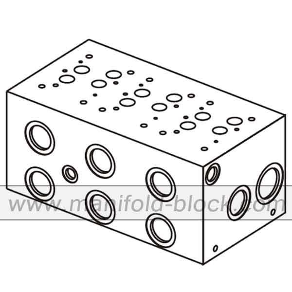 Hydraulic Manifold D07, BM16PH