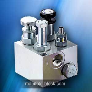 Hydraulic Valve Block, Cartridge Valve Manifold Block And Cavity