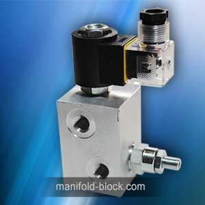 Hydraulic valve Aluminum Block