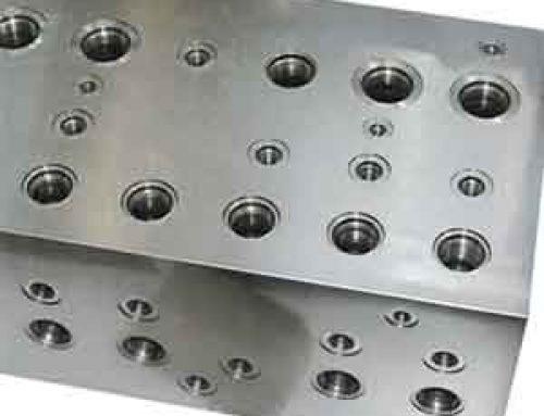 Six Side Design Of Manifold Blocks