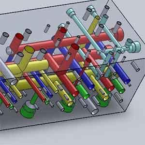 Structural-Characteristics-Of-Hydraulic-Manifold-Blocks