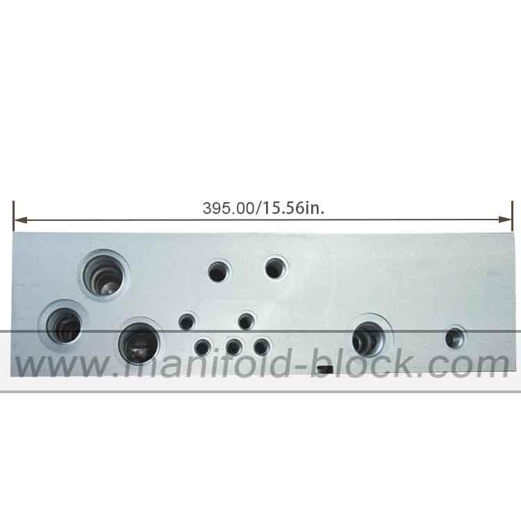 Custom Aluminum Hydraulic Manifold