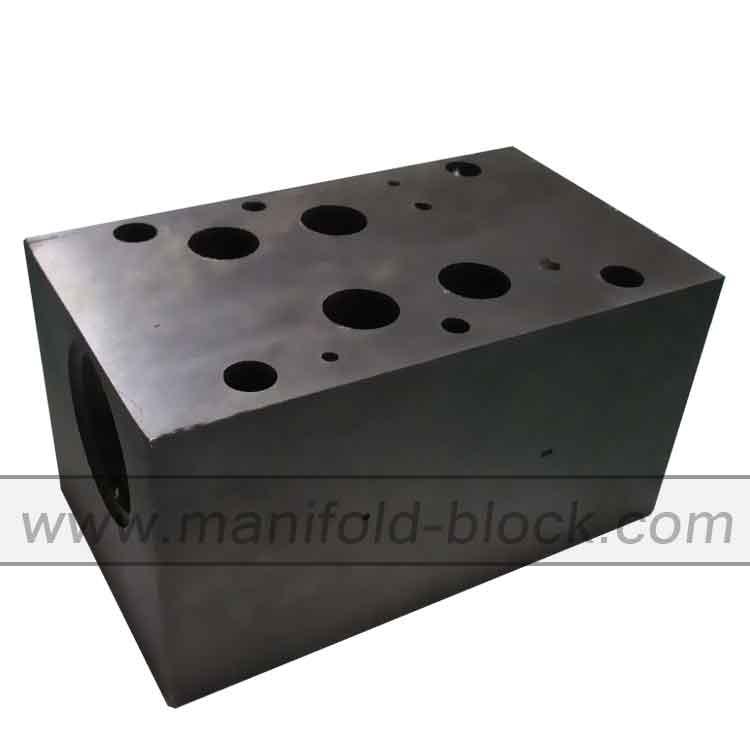 Custom Steel Hydraulic Valve Block, D07 Manifold Block