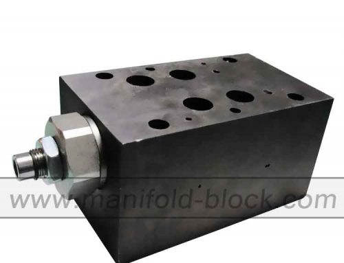 D07 Custom Steel Hydraulic Valve Block