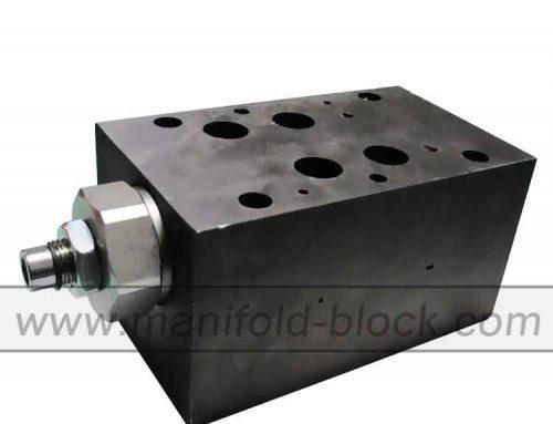 D07 Custom Steel Hydraulic Valve Block